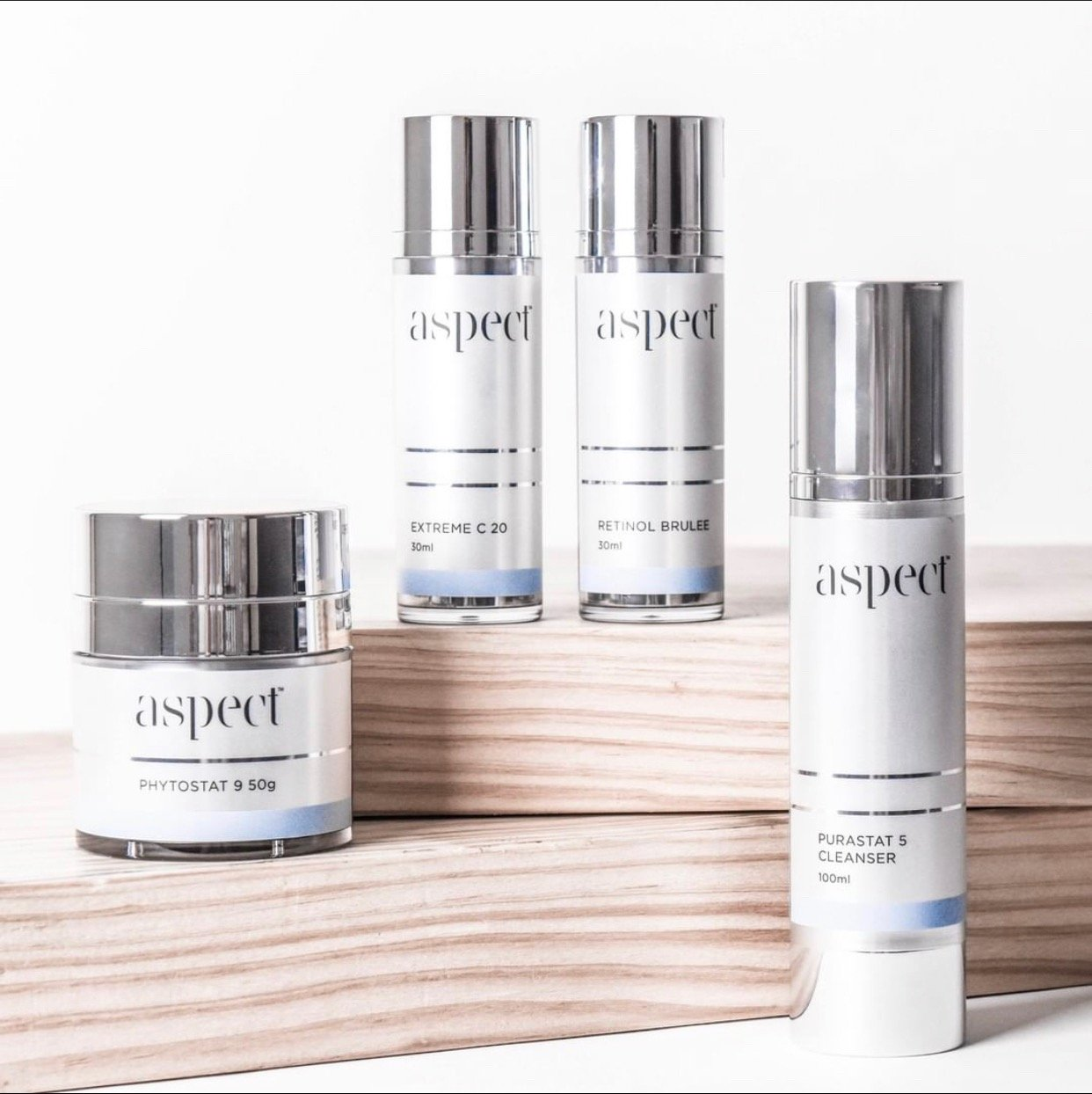 Aspect Skin care products. Cosmeceuticals for healthy skin