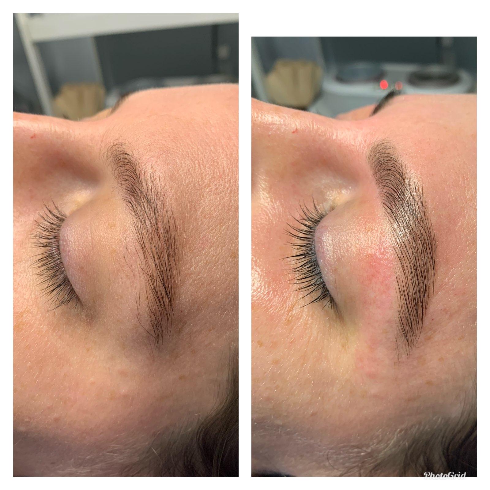 Eyebrow wax and tint beauty salon services Blacktown